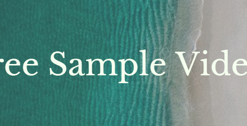 Free Sample Videos